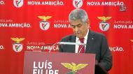 Luís Filipe Vieira explica Rui Gomes da Silva e apresenta candidatura