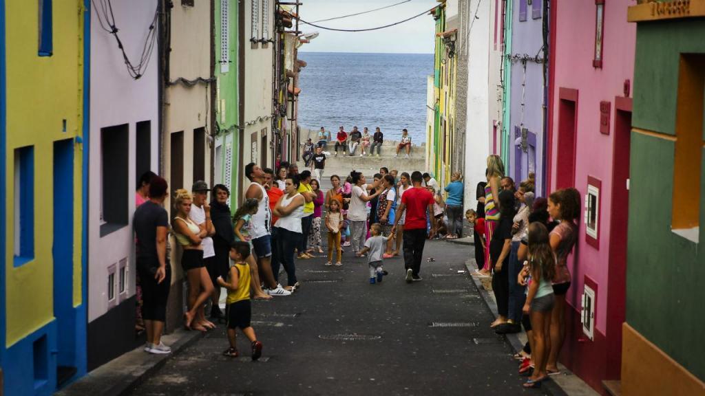 Na ilha de São Miguel, Açores