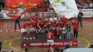 Hóquei: o resumo da conquista da Taça Continental do Benfica