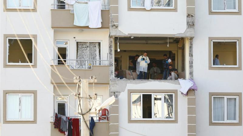 Turquia - Suicídio em Gaziantep