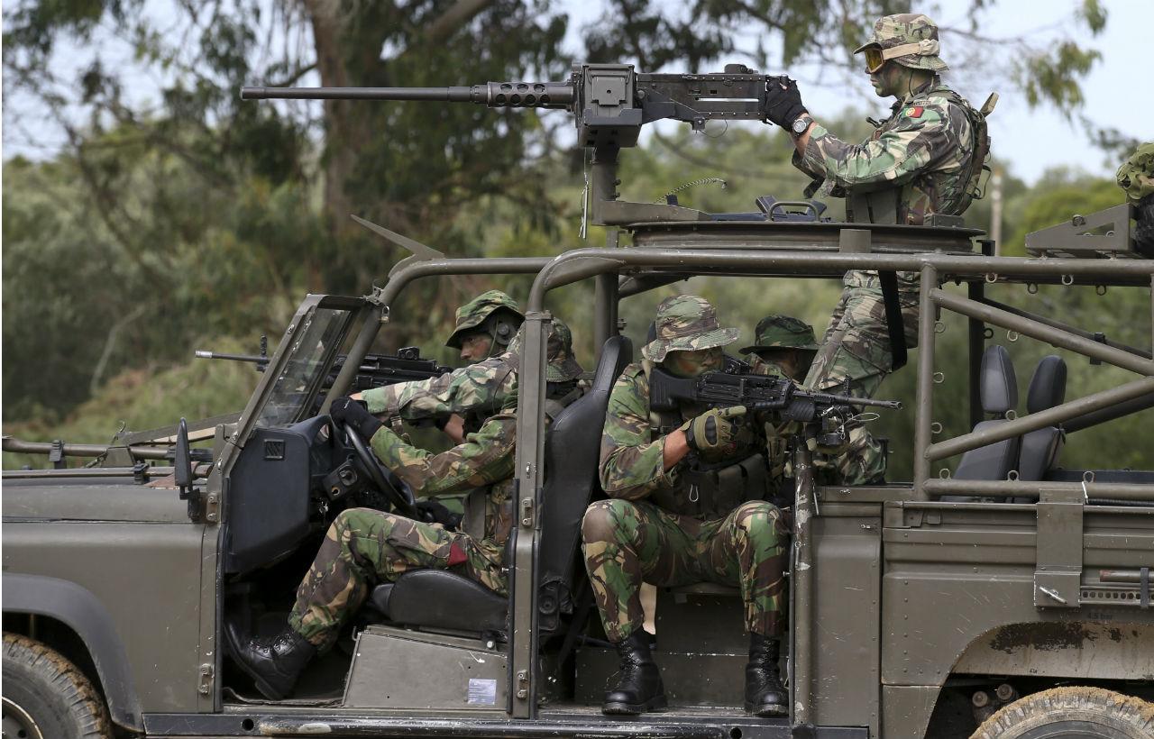 Mortes nos Comandos  sete militares detidos já estão na prisão de Tomar  9b6ee9dfe27