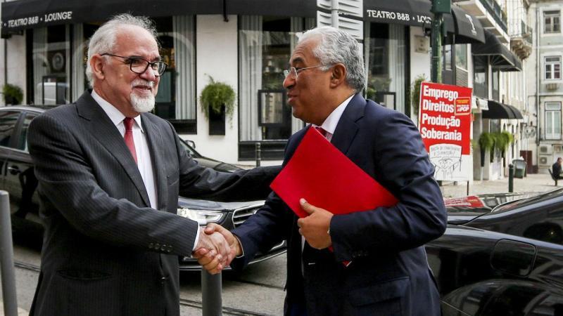 Vieira da Silva e António Costa