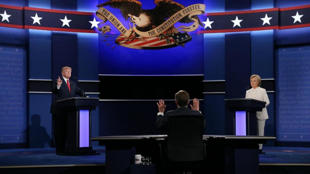 Terceiro e último debate dos candidatos à presidência dos EUA