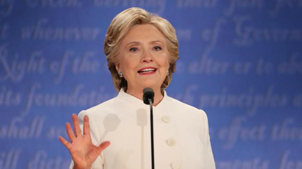 Último debate dos candidatos à presidênica dos EUA