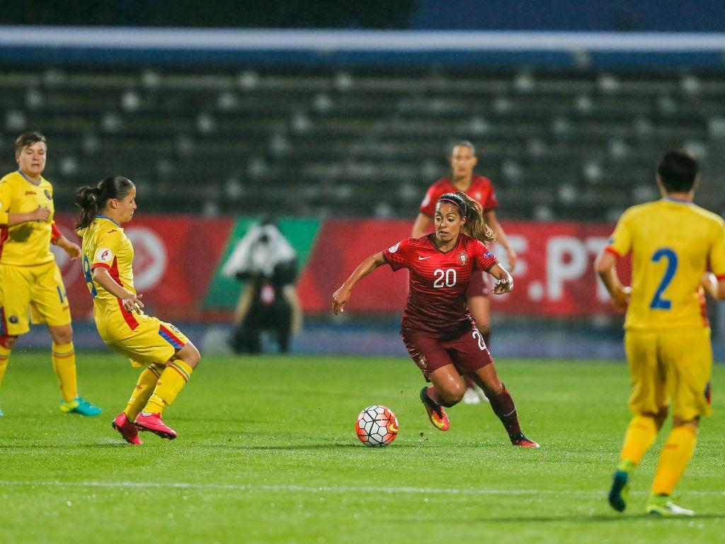 Portugal empatou com a Roménia (foto FPF)