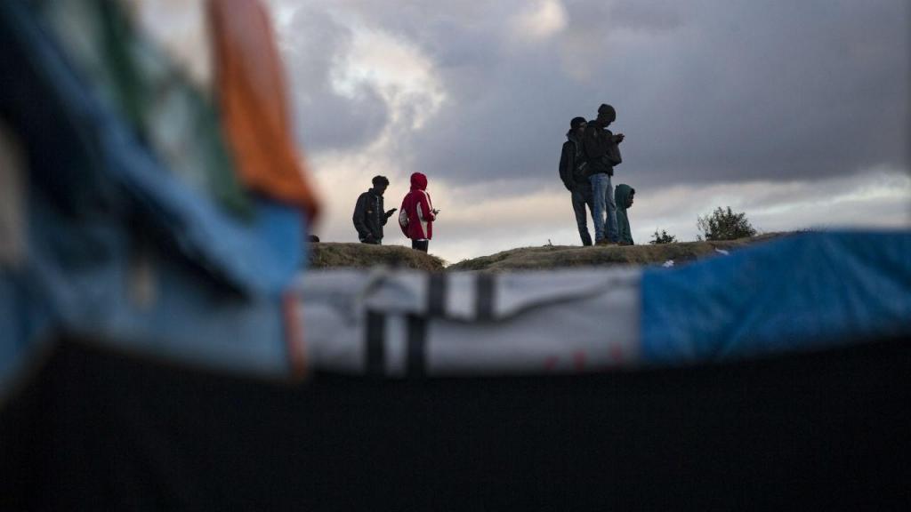 Refugiados em Calais