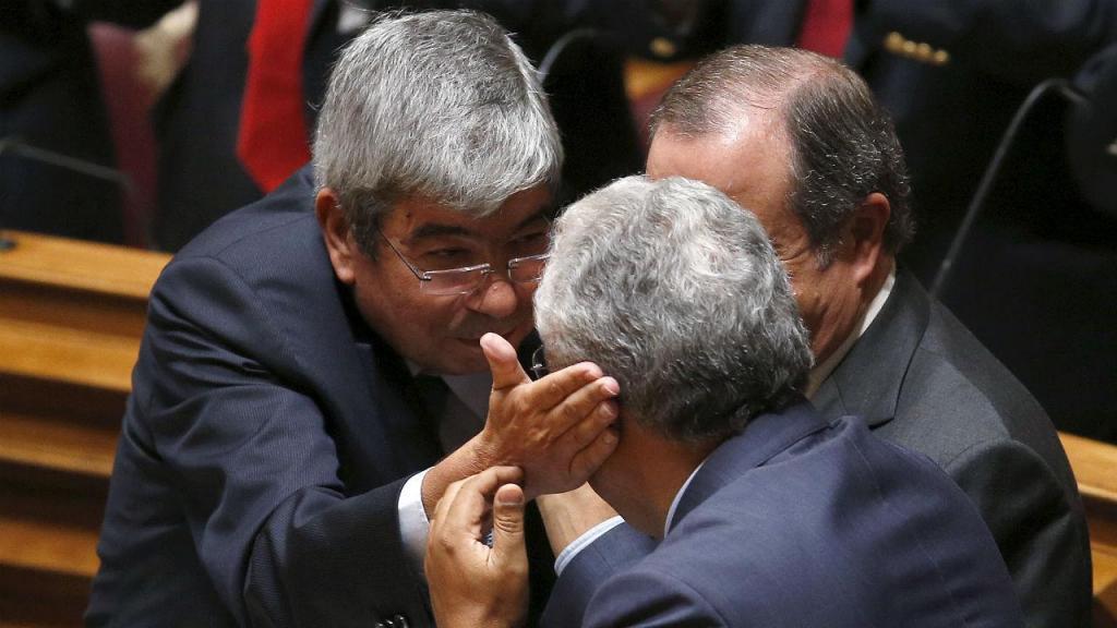 Ferro Rodrigues e António Costa