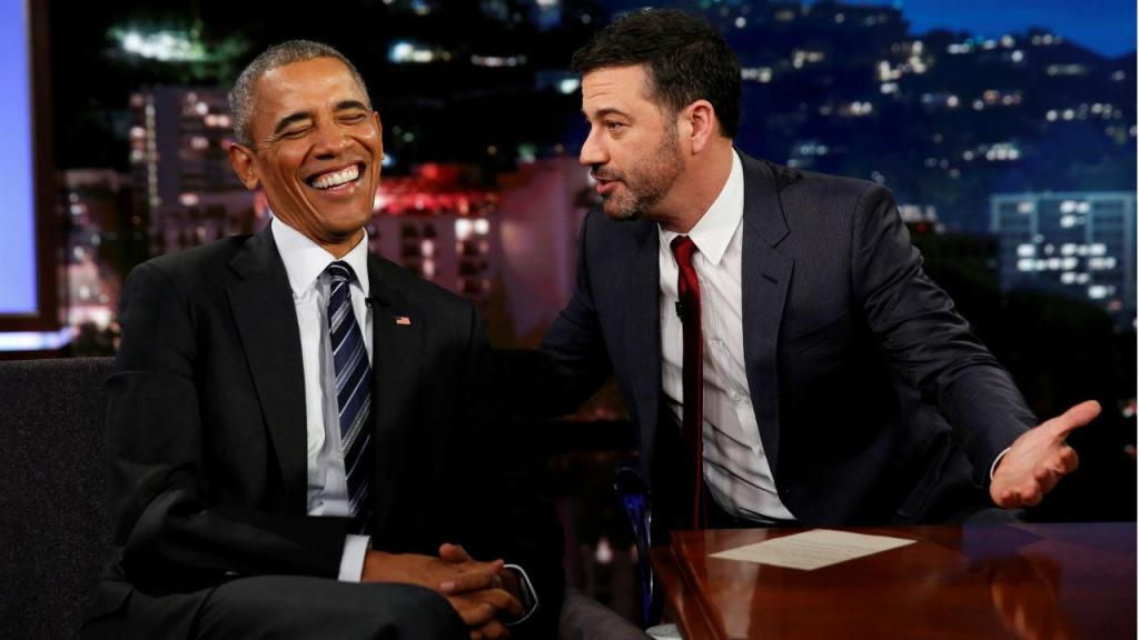 Barack Obama no programa de Jimmy Kimmel