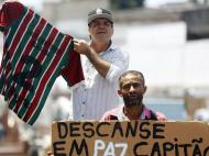 Brasil: o último adeus a Carlos Alberto
