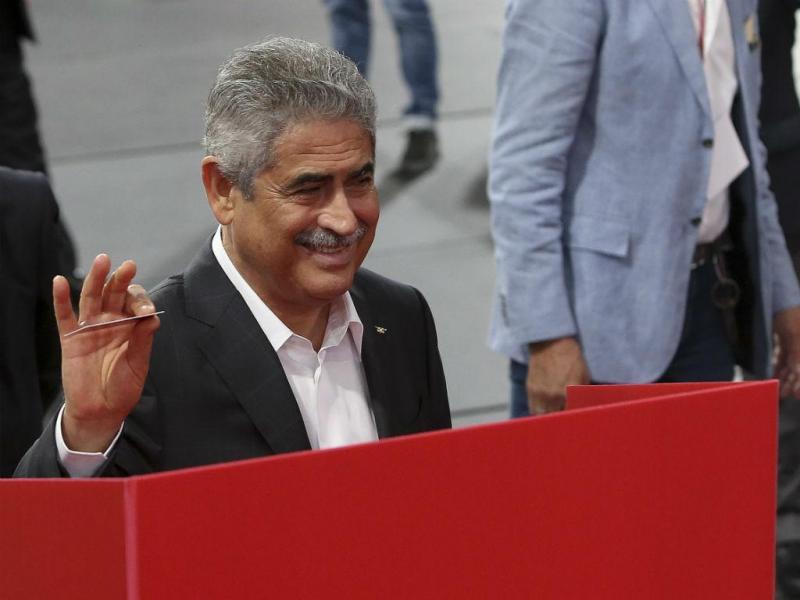 Benfica: as imagens do dia de eleições