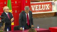 A receção a Luís Filipe Vieira após os resultados da eleição