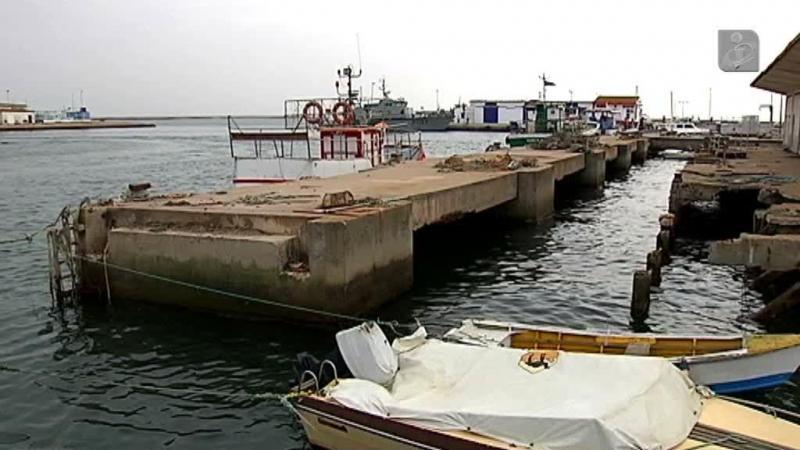 Porto de pesca de Olhão preocupa pescadores