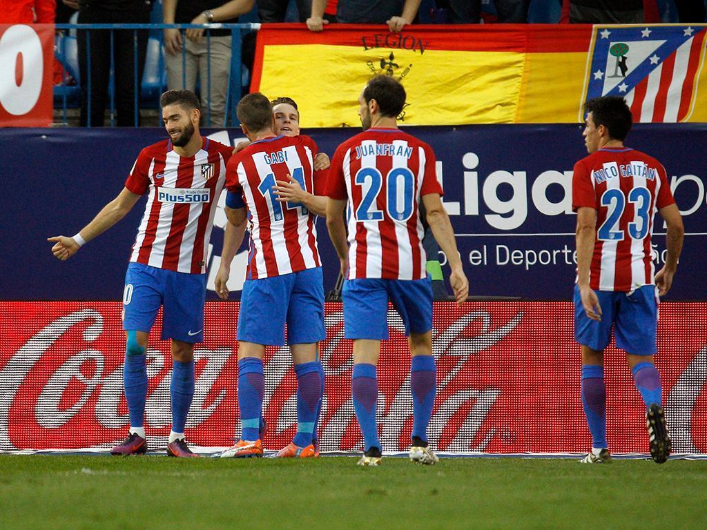 Atlético Madrid-Málaga (Lusa)