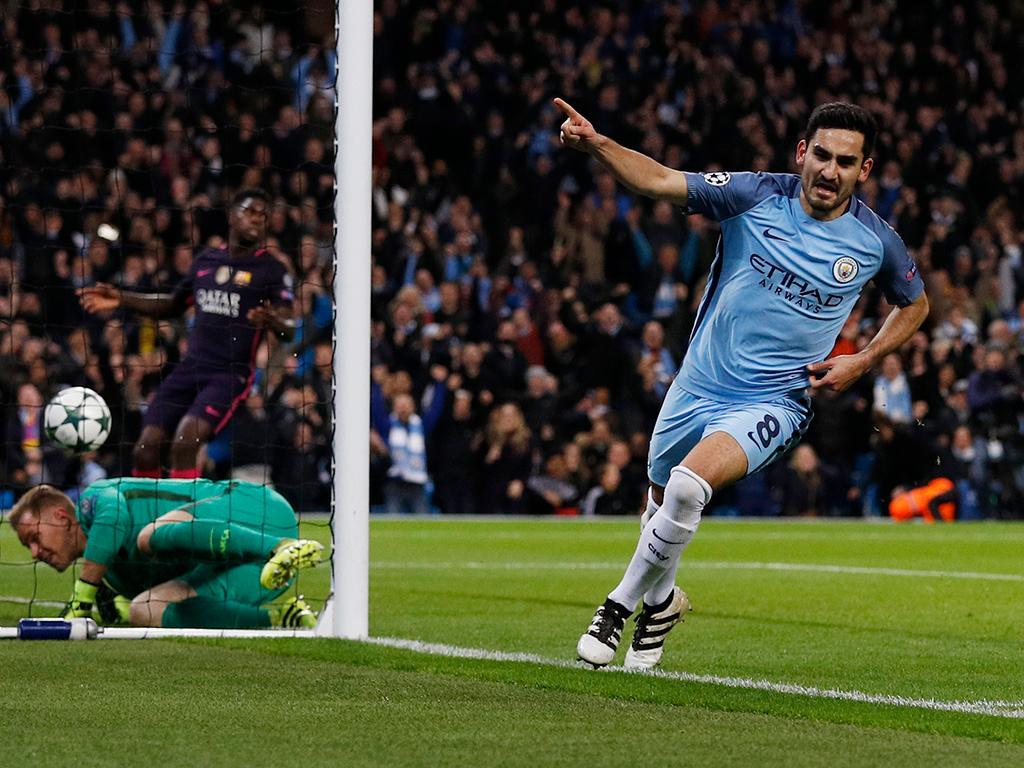 Manchester City-Barcelona (Reuters)