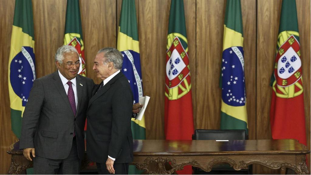 António Costa e Michel Temer