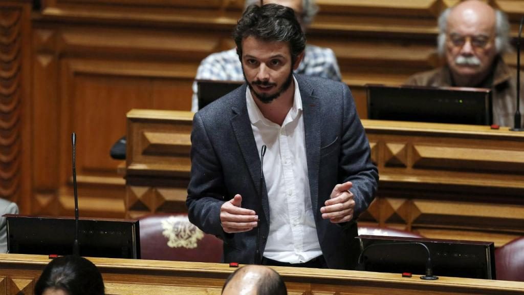 Deputado do Bloco de Esquerda, Moisés Ferreira