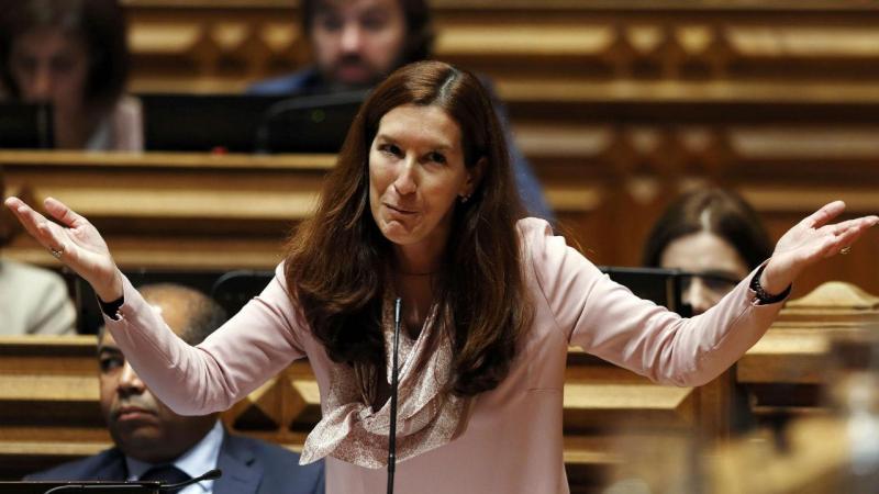 Deputada do CDS-PP, Cecília Meireles