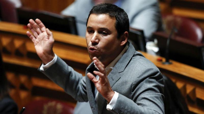 Deputado do Partido Socialista, João Galamba