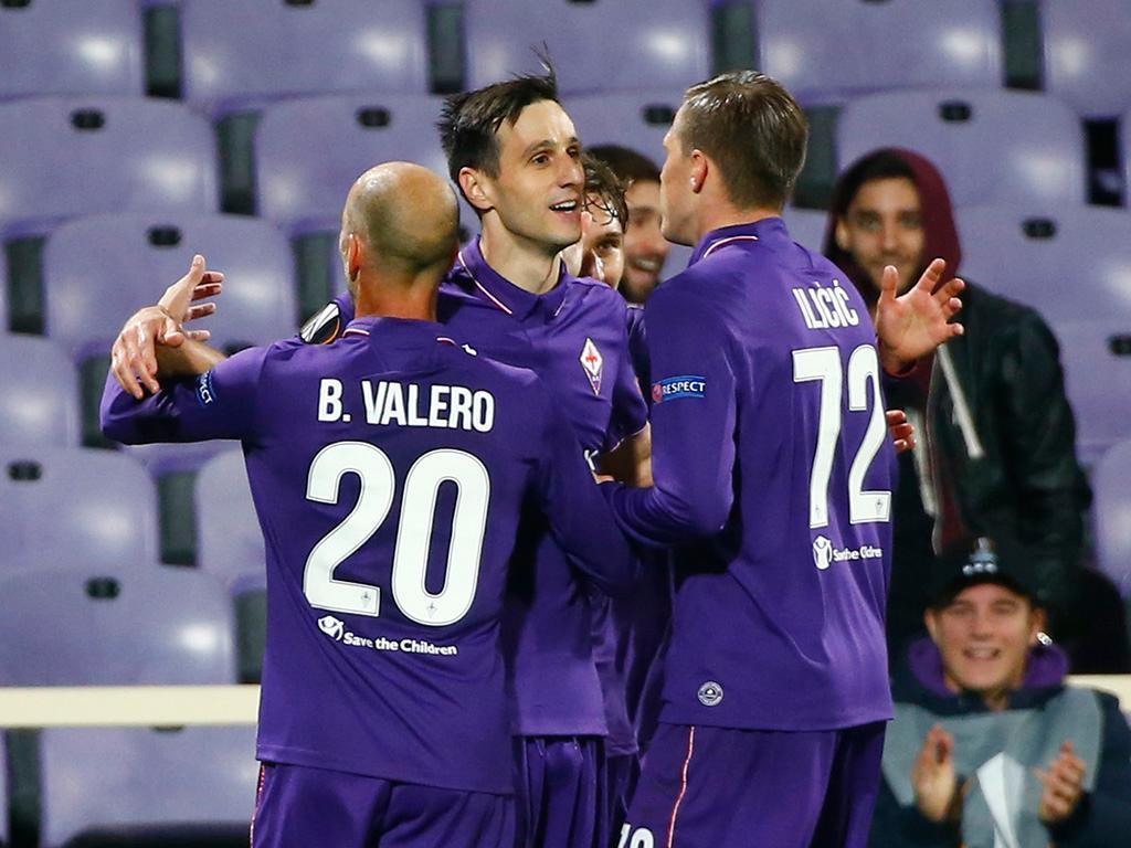 Fiorentina-Liberec (Reuters)