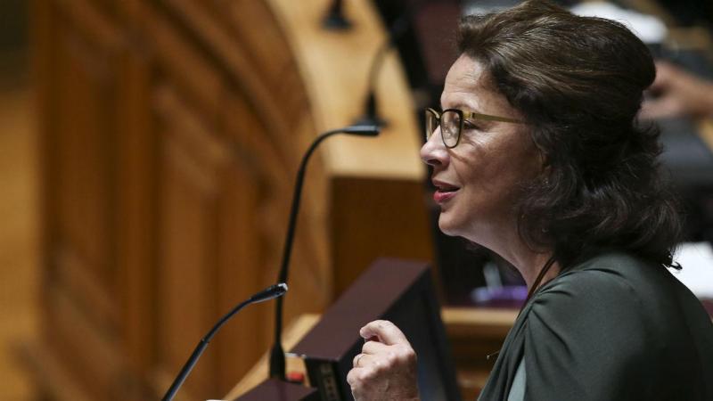 Deputada do Partido Socialista Gabriela Canavilhas