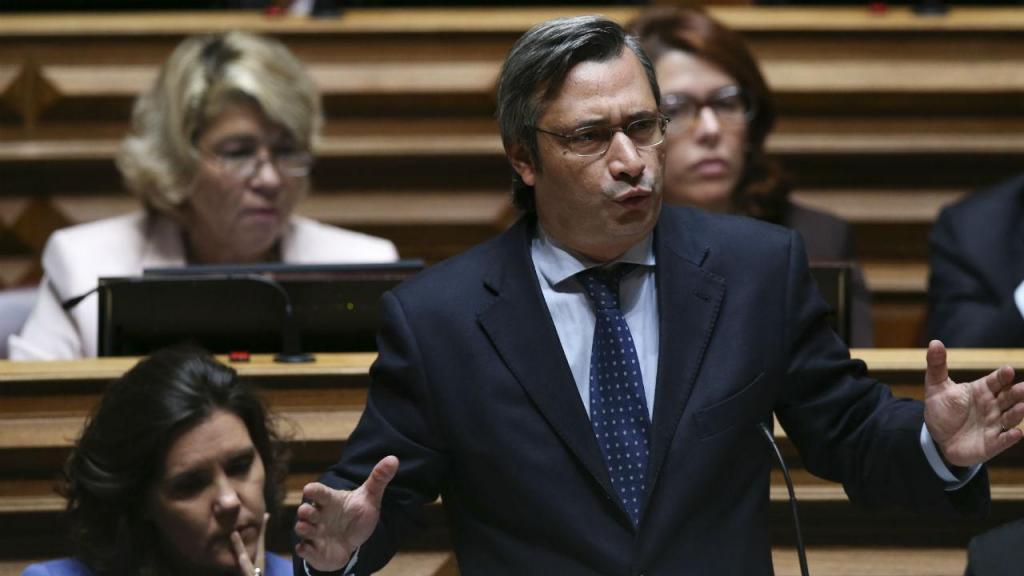 Líder parlamentar do CDS-PP, Nuno Magalhães