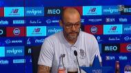 Nuno antevê jogo com o Benfica e fala de Artur Soares Dias
