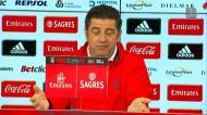 Rui Vitória analisou o Clássico e comentou críticas do FC Porto à arbitragem