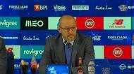 «A partir do minuto 60, Benfica só utilizou futebol direto»