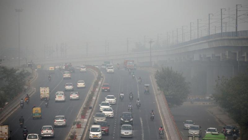 Poluição em Nova Deli, Índia