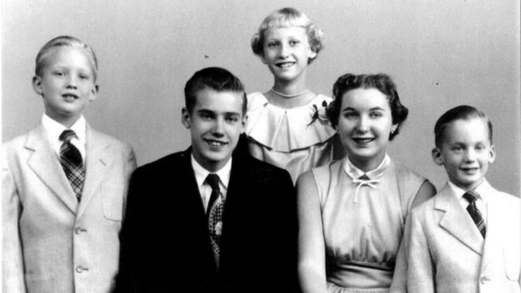 Família Trump (Donald à esquerda)