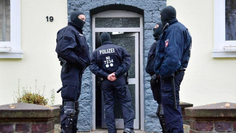 Operação da polícia alemã