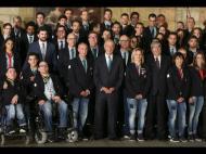 Marcelo Rebelo de Sousa condecora Olímpicos e Paralímpicos (foto Manuel Almeida/Lusa)