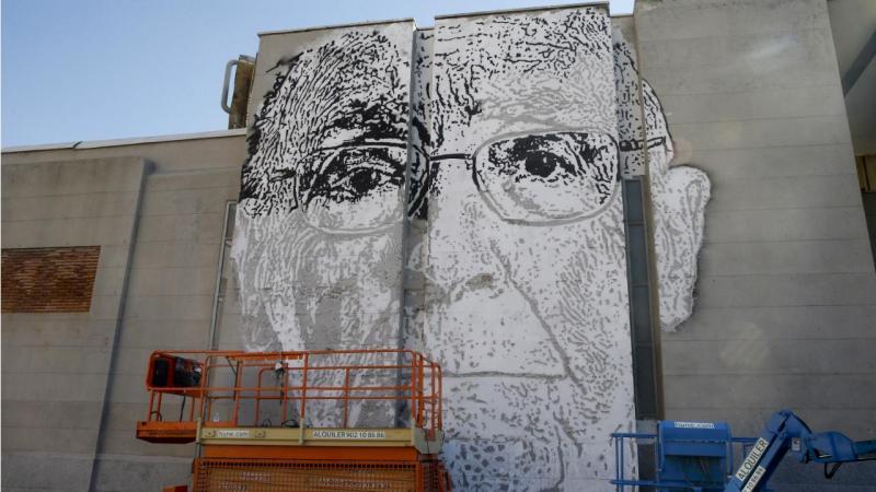 José Saramago por Vhils