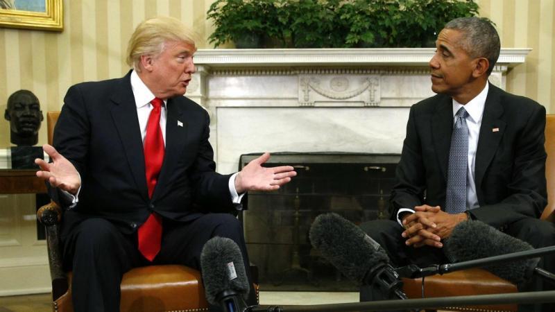 Obama recebeu Trump na Casa Branca