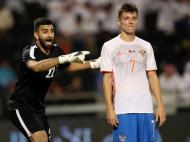 Qatar, com Pedro Ró-Ró, vence Rússia