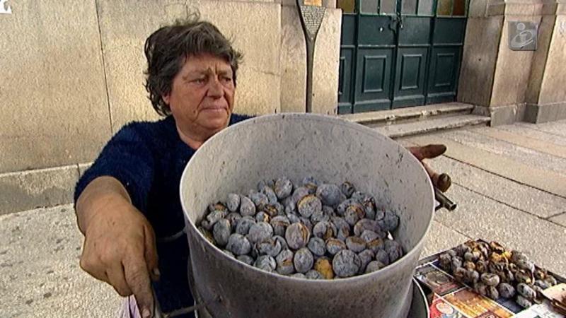 Castanhas na rua: uma tradição que já teve melhores dias