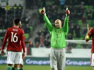 Hungria perde com Suécia na despedida de Kiraly