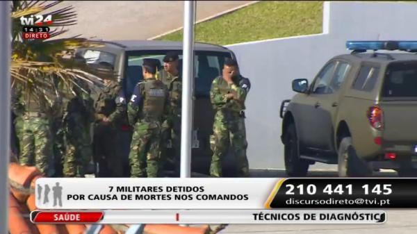 Discurso Direto - 7 militares detidos por causa de mortes nos comandos  813f5f413c6