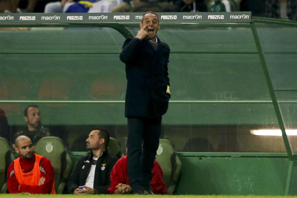 Sporting-Praiense (MIGUEL A. LOPES/LUSA)