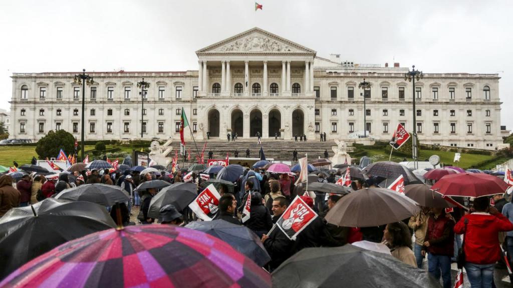 Manifestação da Frente Comum