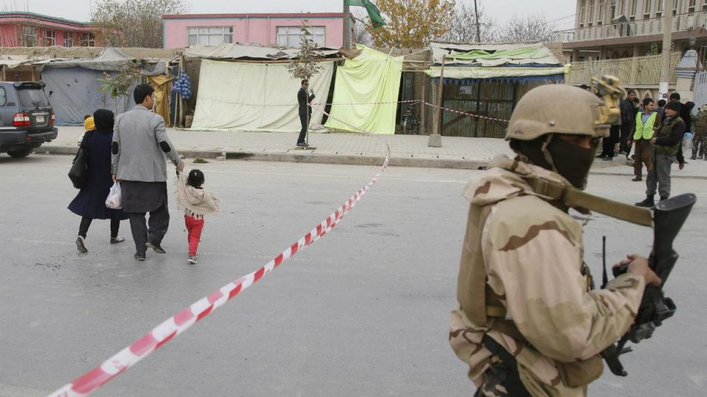 Explosão de um bombista suicida numa mesquita xiita