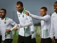 Sporting: treino em Alcochete antes do Real Madrid