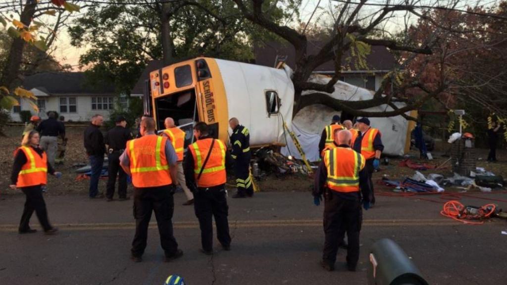 Acidente com autocarro escolar fere mais de 20 crianças