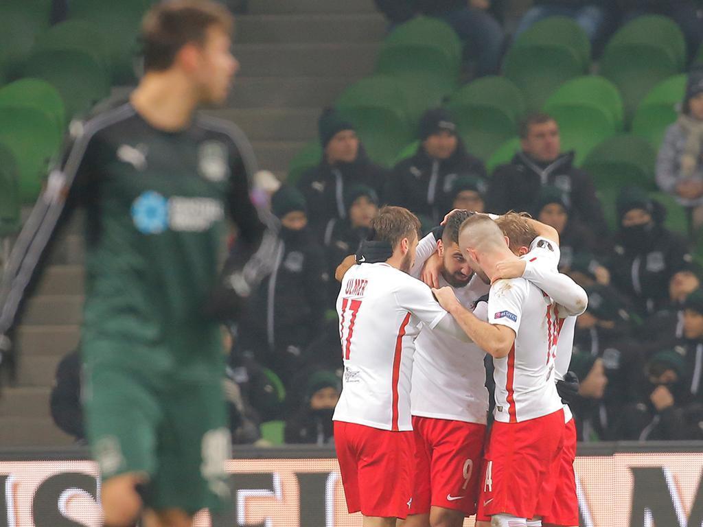 Krasnodar-Salzburg (Reuters)