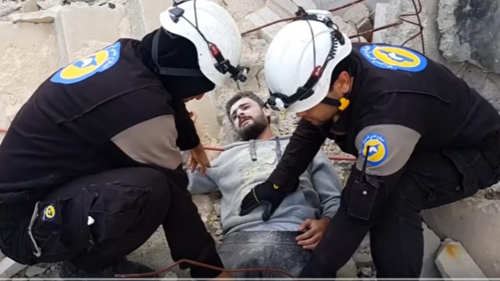Manequin Challenge em Alepo