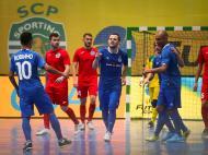 Futsal: Dinamo Moscovo-Targu Mures (Lusa)