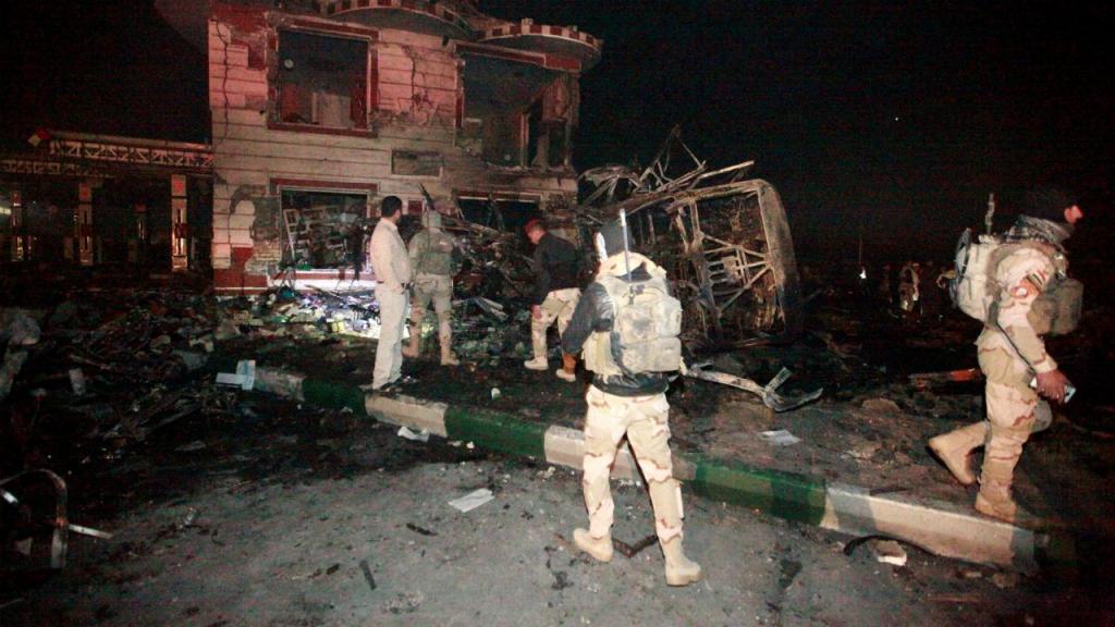 Atentado em Bagdade
