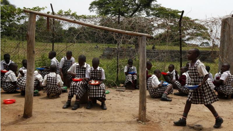Escola - Uganda