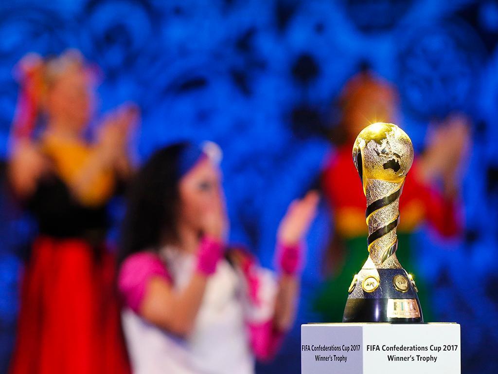 Sorteio da Taça das Confederações (Reuters)