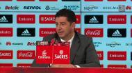 Vitória elogia Pizzi, explica opção por Jiménez e comenta lateral esquerda
